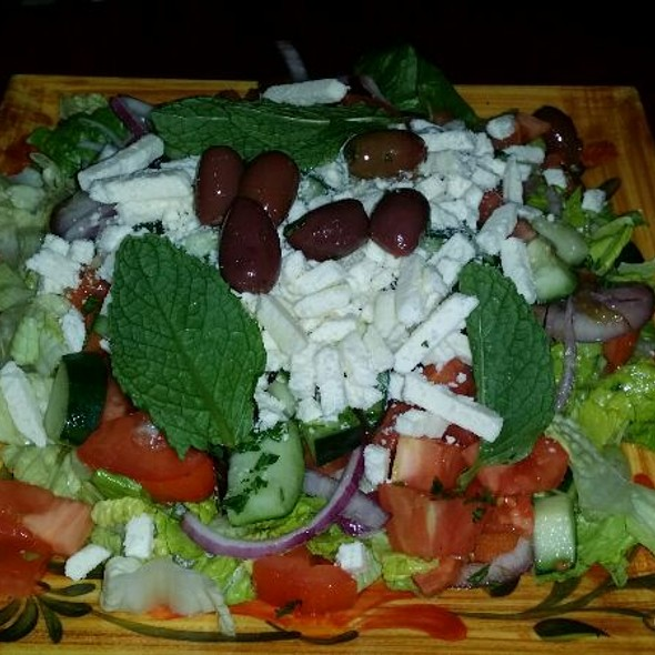 Greek Salad @ Manakeesh Cafe Bakery