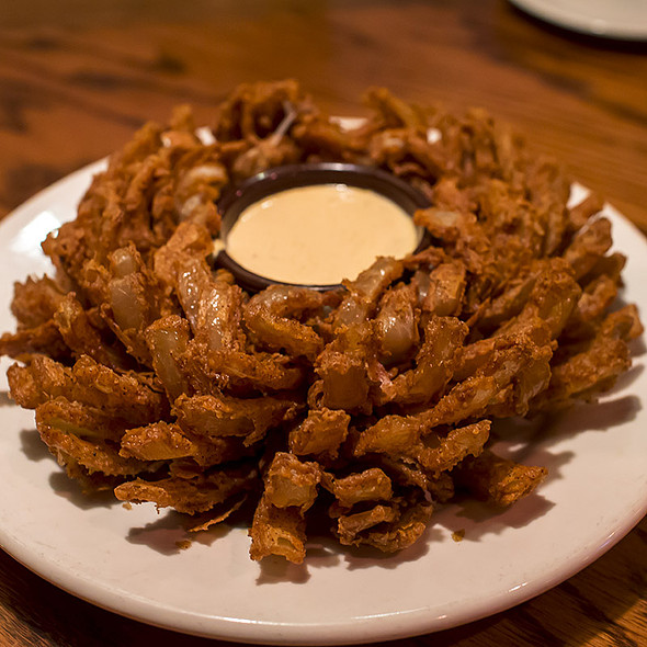 Bloomin' Onion @ outback steakhouse - dublin