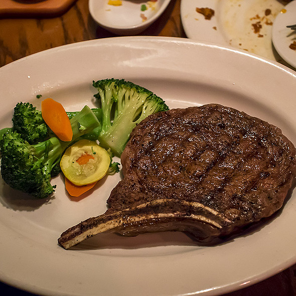 Bone-In Ribeye @ outback steakhouse - dublin