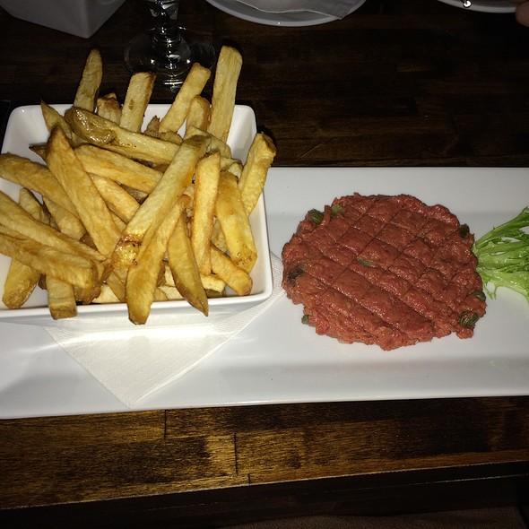 steak tartare - Sabor Restaurant, Edmonton, AB