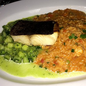 Sablefish And Lobster Risotto - Sabor Restaurant, Edmonton, AB