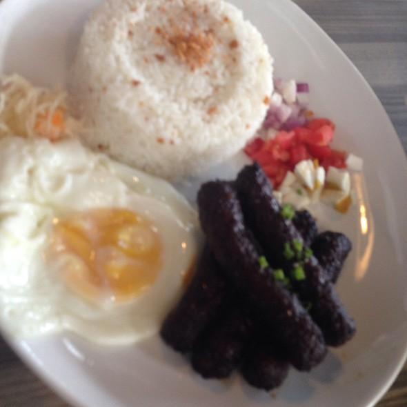 Longganisa Meal