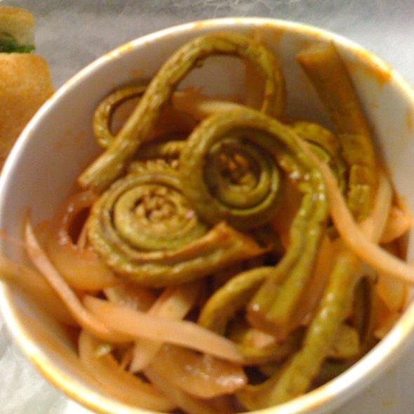 Pickled Fiddlehead Ferns And Onions @ Nettletown