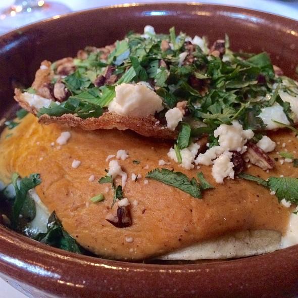 Local Pork Enchiladas - benjy's in the village, Houston, TX