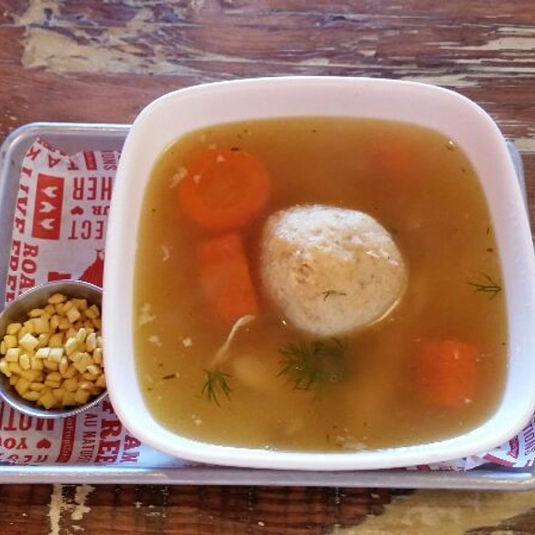 Chicken Soup With Matzoh Ball @ Proposition Chicken