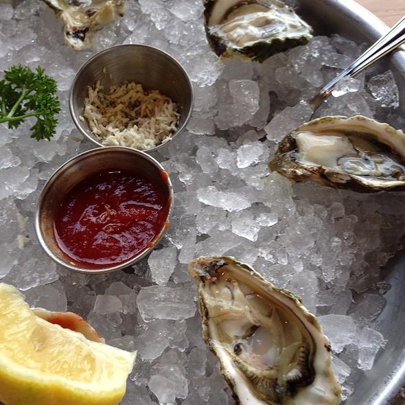 Kumamoto oysters @ The Fish Market San Mateo
