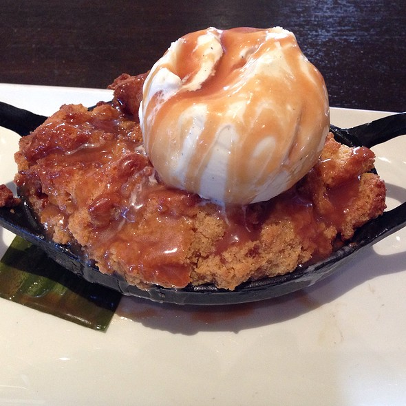 Butterscotch Bread Pudding - Blackhawk Grille, Danville, CA