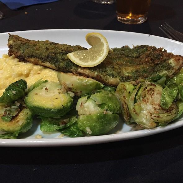 Rainbow Trout - Blue Prynt Restaurant & Bar, Sacramento, CA