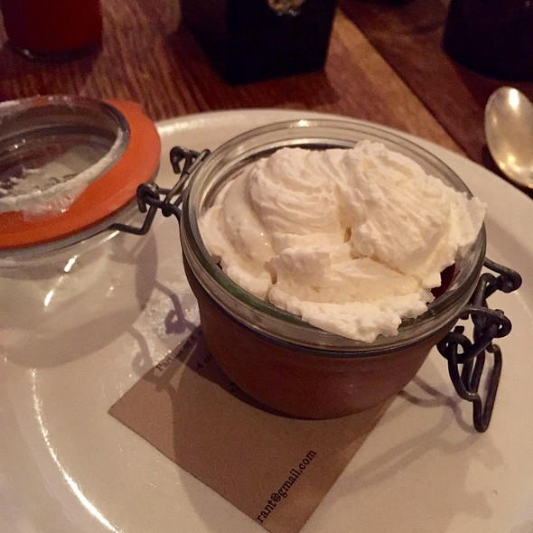 Chocolate And Salted Caramel Pot De Creme
