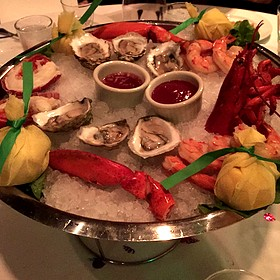 Cold Shellfish Platter - The Capital Grille - Chicago- Rosemont, Rosemont, IL