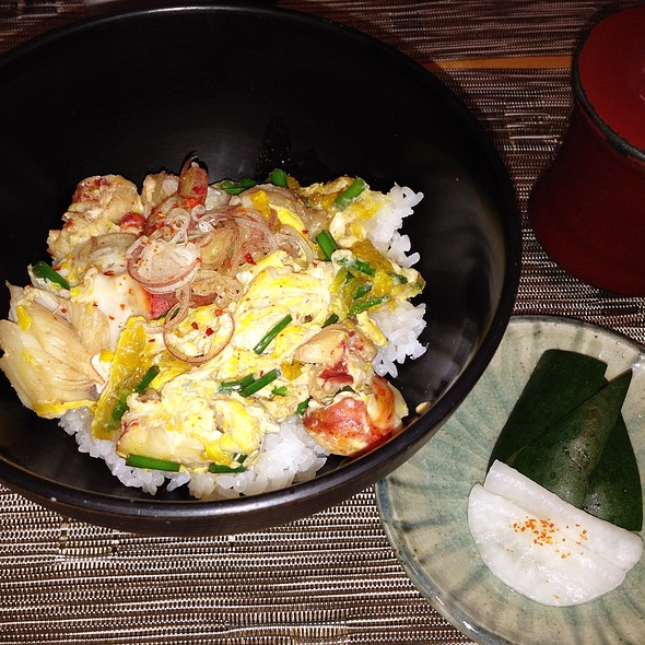 Lobster Doburi @ brushstroke
