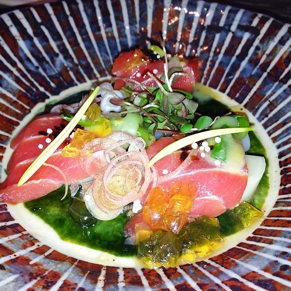Tuna Sashimi With Heart Of Palm @ brushstroke