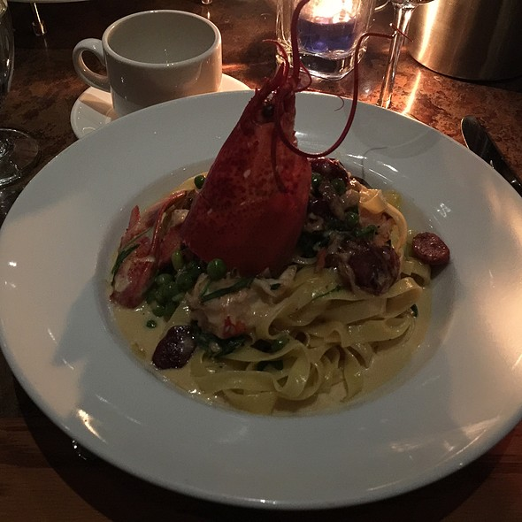 Lobster Tagaliatelle Pasta - The Salmon House, West Vancouver, BC