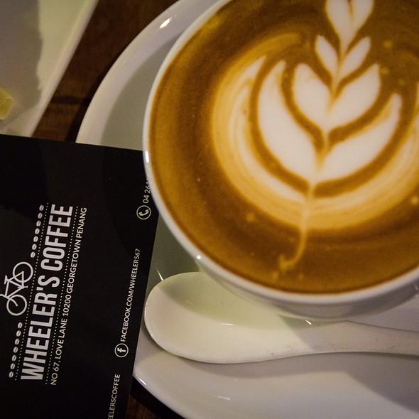 Tiramisu Latte @ Wheeler's Cafe