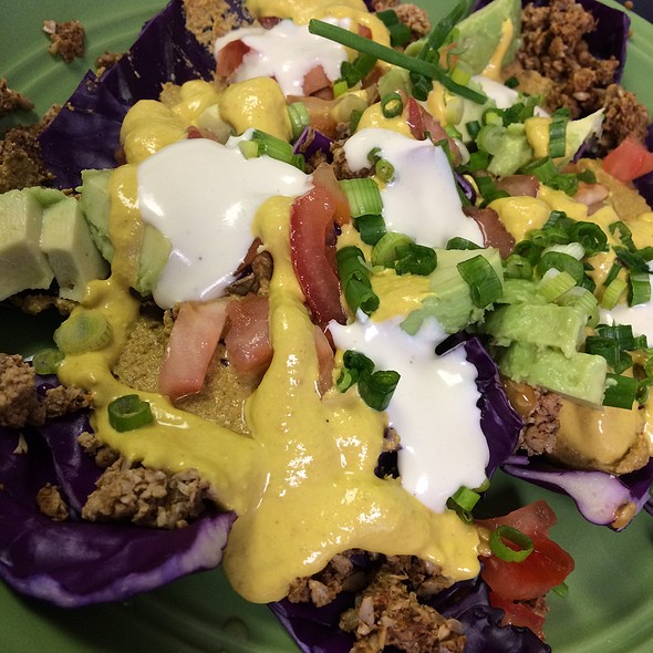 Vegan Raw Super Nachos @ Try It Raw