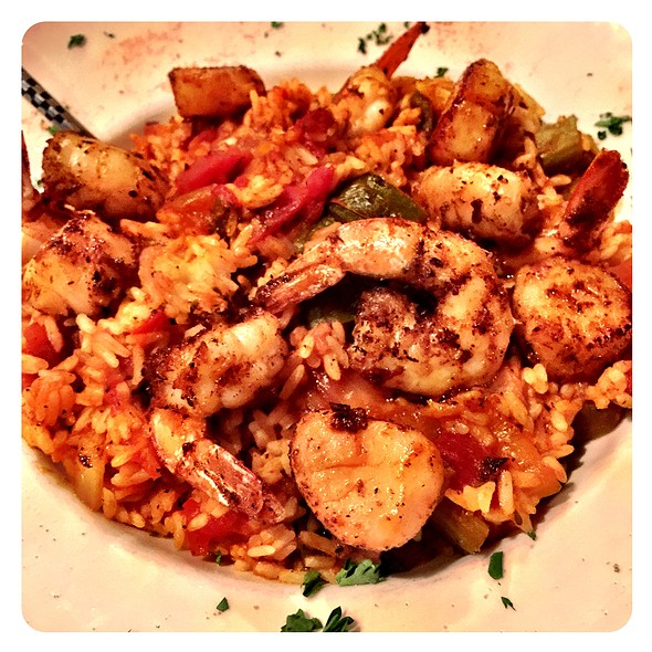 Seafood Jambalaya @ Moe Joe's