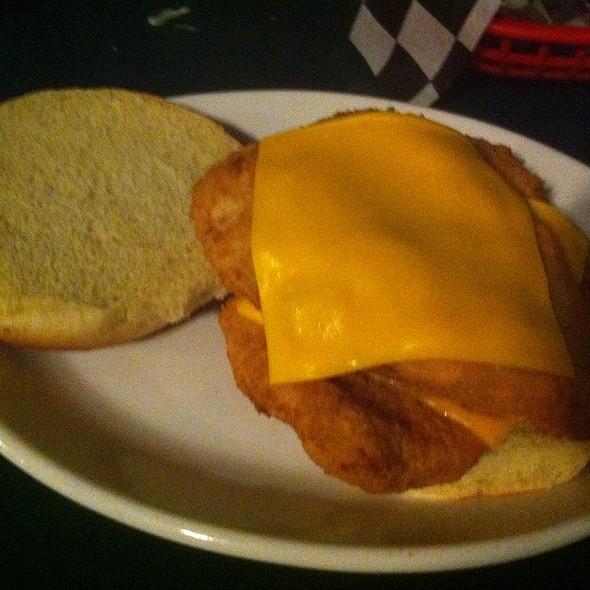 Half Pound Fish Sandwich @ The Bush