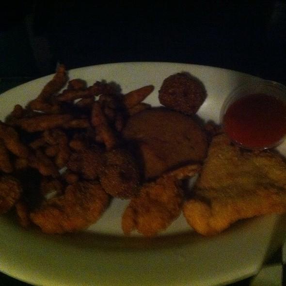 Seafood Platter @ The Bush