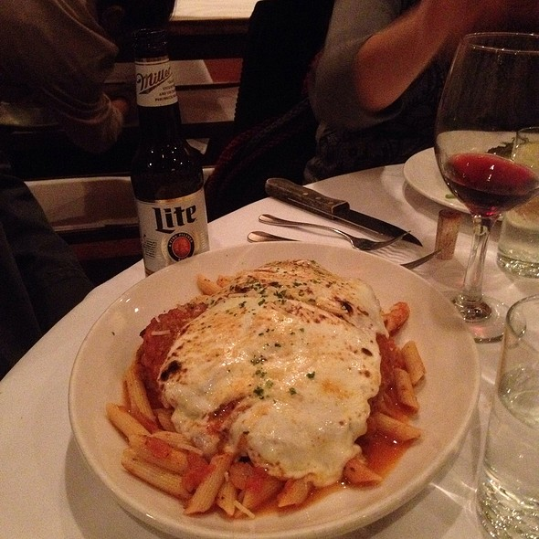 Chicken Parmesan - Bobby Van's Steakhouse - DC, Washington, DC