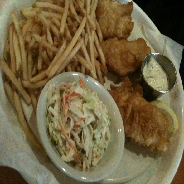 Fish and Chips - The Grille on Congress, Boca Raton, FL