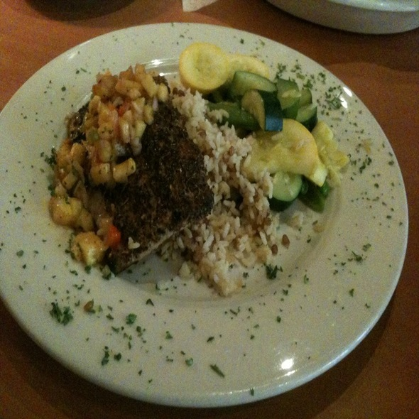 Cajun Mahi Mahi - The Grille on Congress, Boca Raton, FL