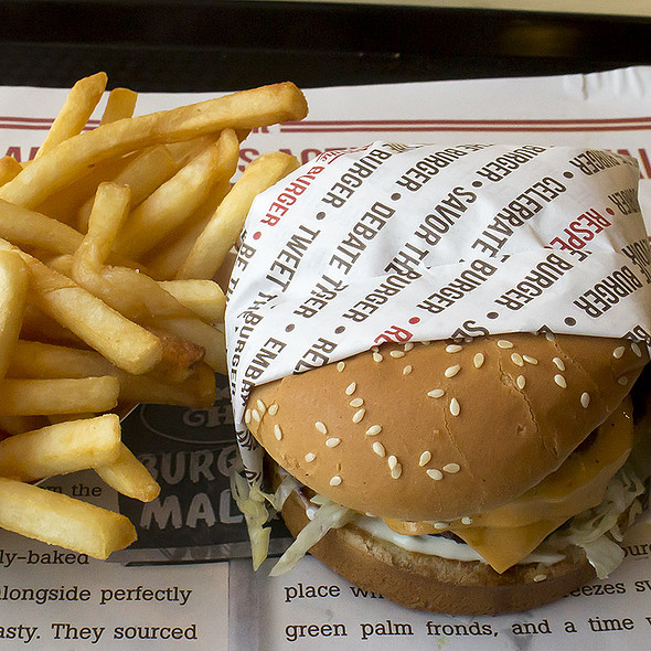 Double Charburger @ Habit Burger Grill