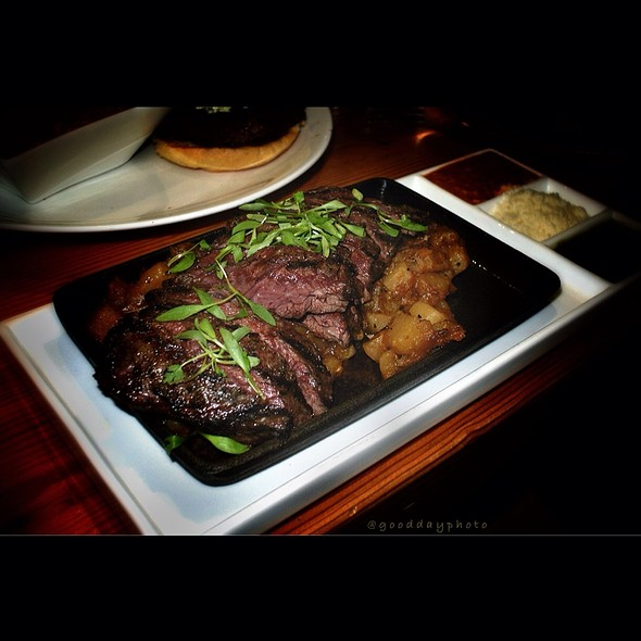 Skirt Steak @ Virtue Feed and Grain