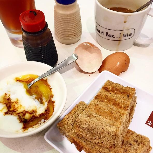 Kaya Butter Toast @ Toast Box - 313 Somerset