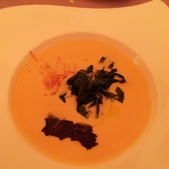 Mushroom Truffle White Bean Soup - The Club Grill - The Ritz-Carlton Cancun, Cancún, ROO