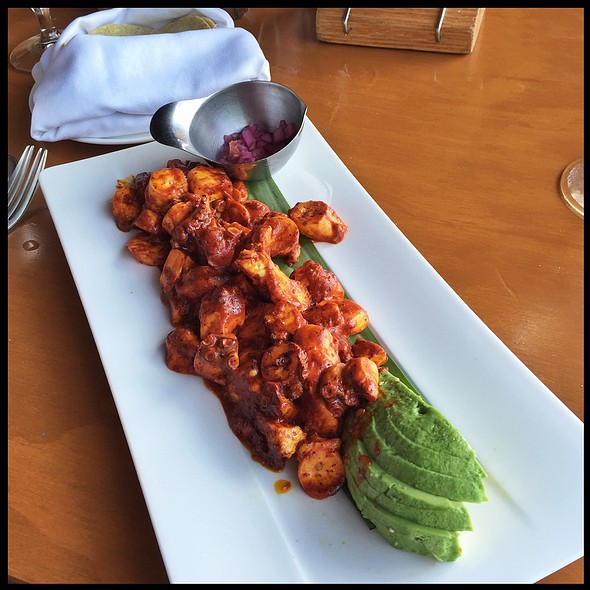 Yucatan Octopus @ Fred's House Seafood Market & Grill