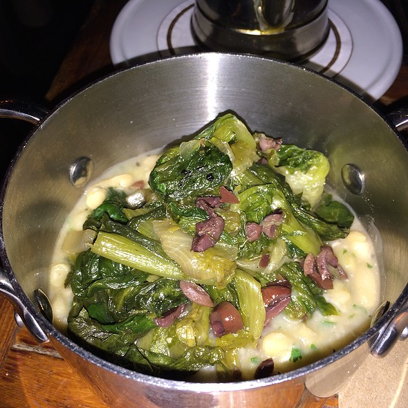 Escarole With White Beans And Olives