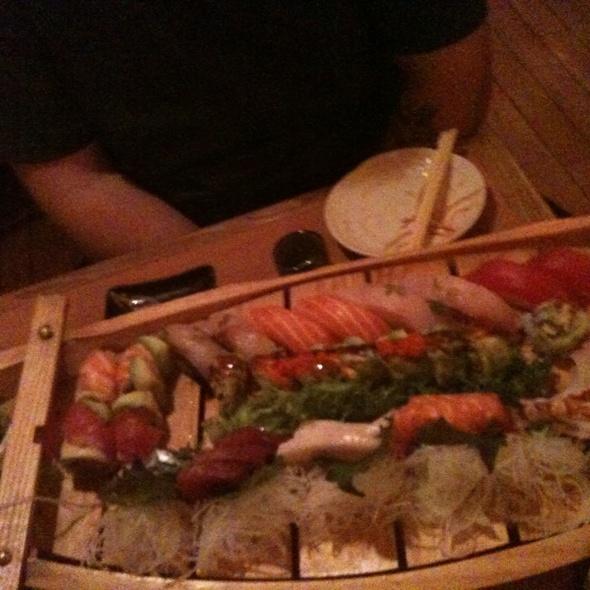 Sushi Boat For 2 @ Haru Sapporo Japanese Restaurant