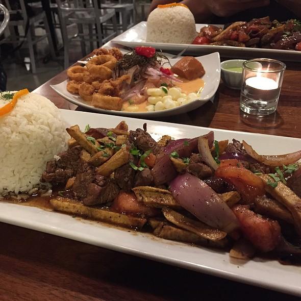 lomo saltado @ Misky Peruvian Cuisine