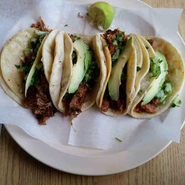 Taco Especial @ Taqueria El Amigo