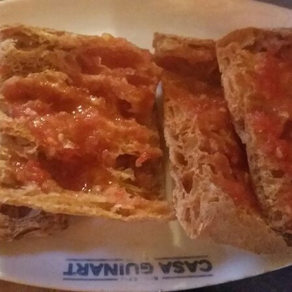 Bread And Tomato Spread @ Casa Guinart