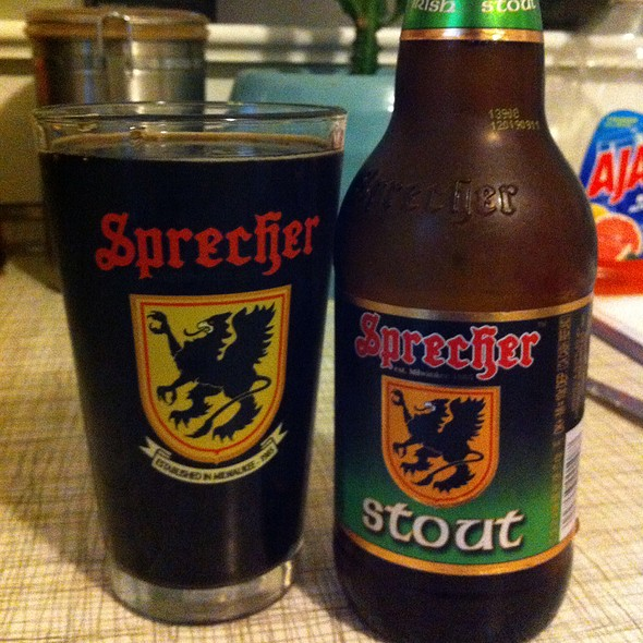 Sprecher Stout @ Sprecher Brewing Company