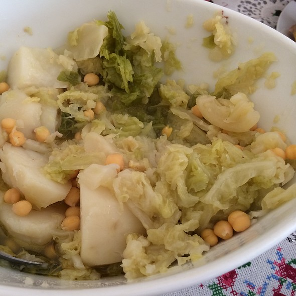 Col I Patata Vegetable @ Tina's Place