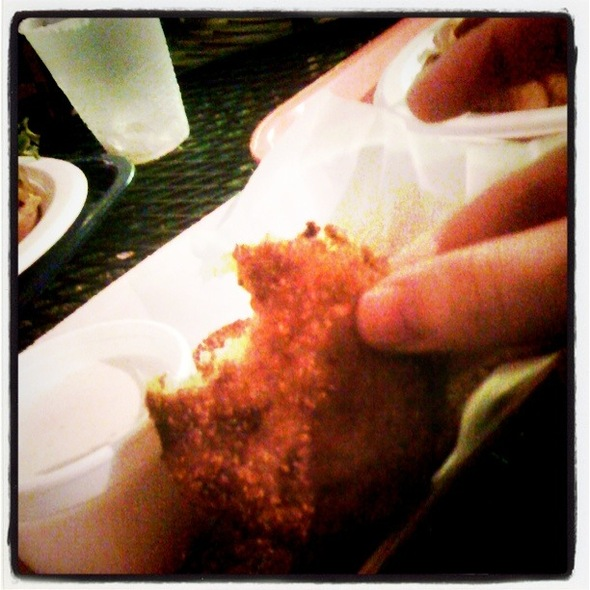 Fried Green Tomatoes @ Threadgill's