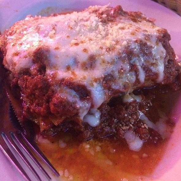 Meat Lasagna @ Chicagos Italian Beef