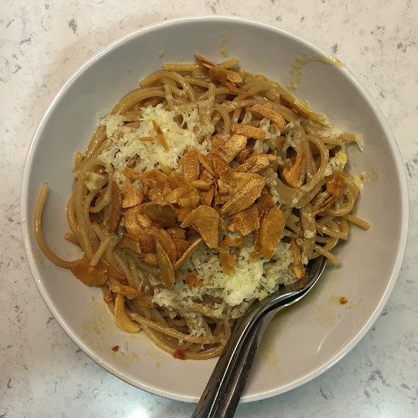 Pasta With Garlic 3 Ways @ Cafe Martin 網吧馬丁