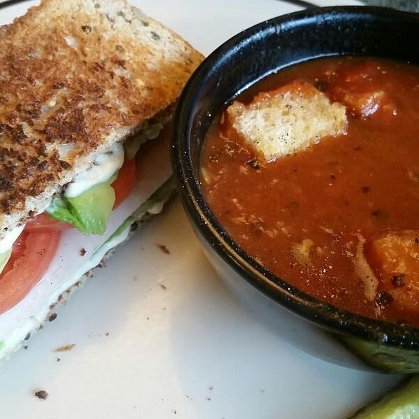 Turkey Club And Tomato Soup @ Corner Bakery Cafe Warwick Ri