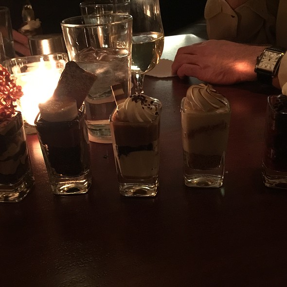 Assorted Shotglass Desserts @ Seasons 52 Fresh Grill