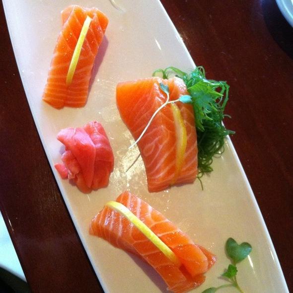 Sashimi Of Salmon @ Tokyo Dining