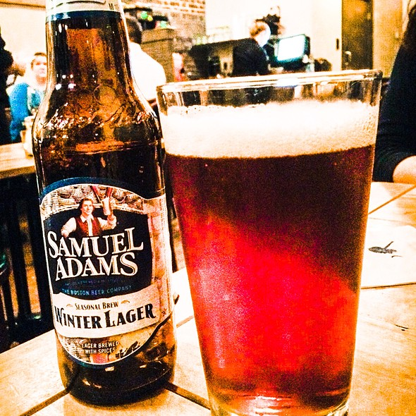 Samuel Adams Winter Lager @ Lowcountry Bistro