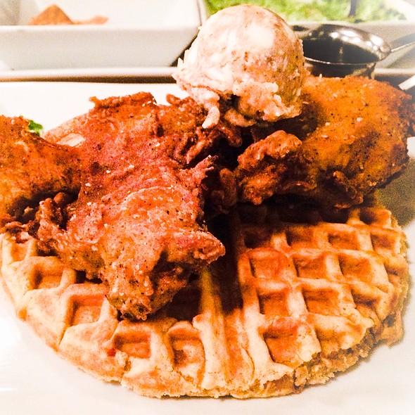 Chicken & Waffles @ Lowcountry Bistro