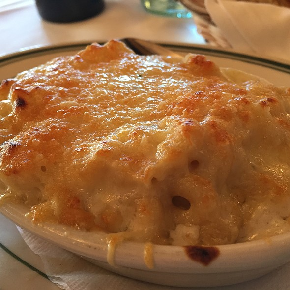 mac n cheese - Wolfgang's Steakhouse - Beverly Hills, Beverly Hills, CA