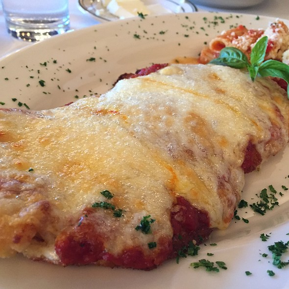 Veal Parmesean - Wolfgang's Steakhouse - Beverly Hills, Beverly Hills, CA