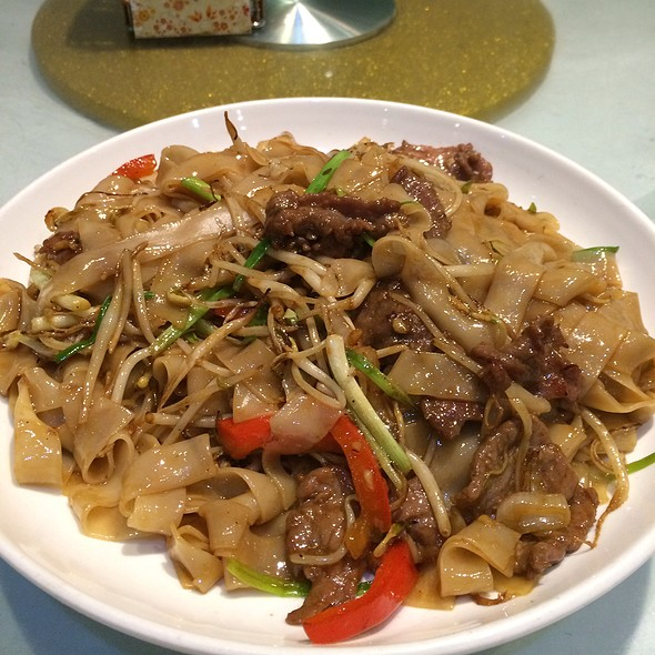 Fried Rice Noddle With Beef @ M Y Gourmet