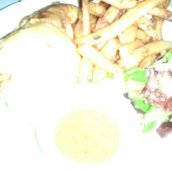 Roasted half poulet & Frites @ Les Halles
