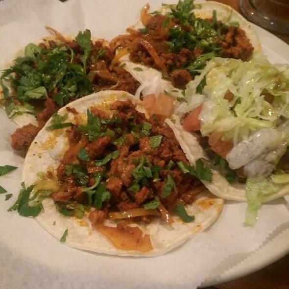 Al Pastor Tacos @ El Tapatio Restaurant